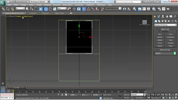 Blocking out the basic form: Game Prop Creation in 3ds Max