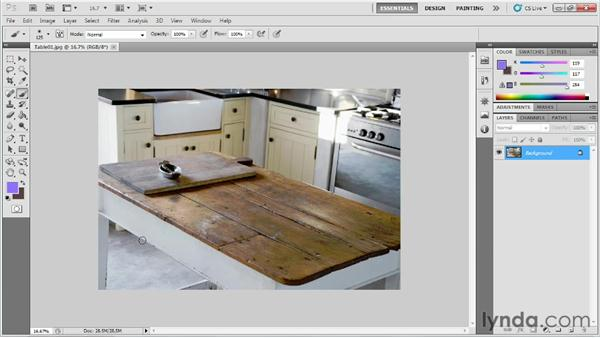 Adding legs and skirt boards to the table: Game Prop Creation in 3ds Max