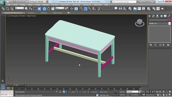Breaking up the model for texturing: Game Prop Creation in 3ds Max