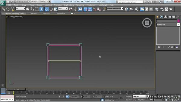Reusing parts to make a round table: Game Prop Creation in 3ds Max
