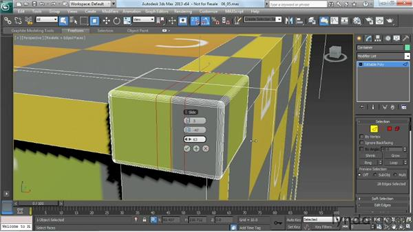 Planning edge flow for elegant modeling: Game Prop Creation in 3ds Max