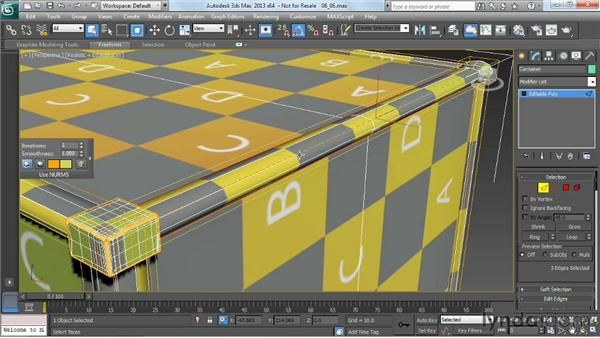 Smoothing groups: Game Prop Creation in 3ds Max