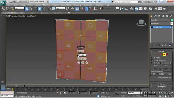 Adding details by beveling and extruding: Game Prop Creation in 3ds Max