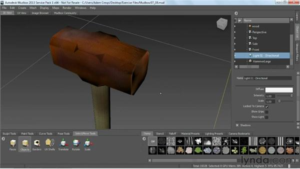 Overview of Mudbox: Game Prop Creation in 3ds Max