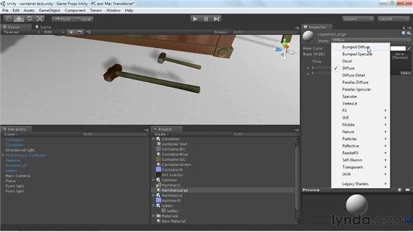Importing and assigning objects and maps in Unity: Game Prop Creation in 3ds Max
