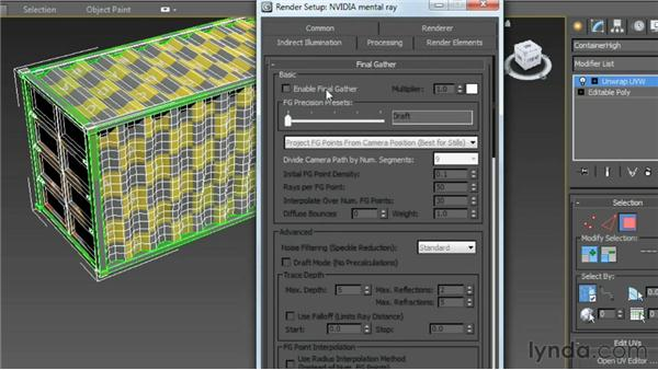 Setting up ambient occlusion as a texture: Game Prop Creation in 3ds Max