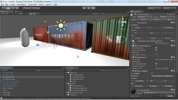 Overview of importing into Unity: Game Prop Creation in 3ds Max