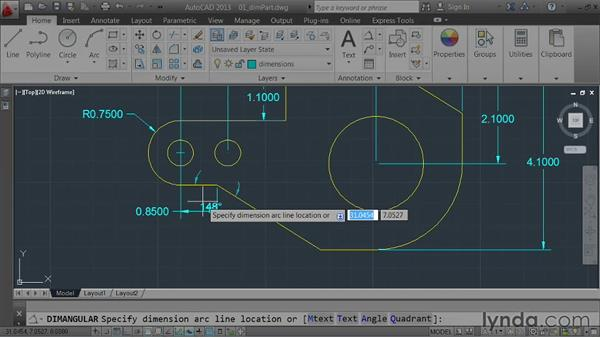 Welcome: AutoCAD 2013 Essentials: 04 Annotating a Drawing