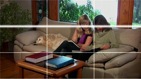 Adhering to the rule of thirds: Video Journalism Shooting Techniques