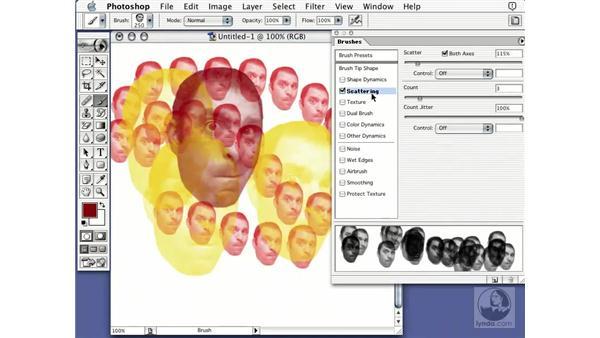 head brush: Learning Photoshop 7