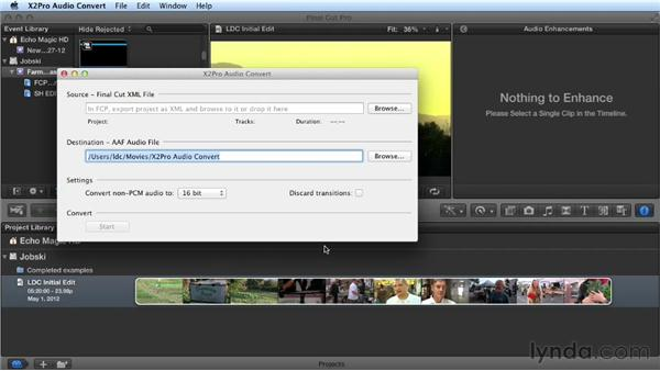 What you should know before watching this course: Audio Post Workflow with Final Cut Pro X v10.0.9 and Pro Tools