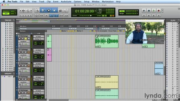 Choosing sources and assigning tracks: Audio Post Workflow with Final Cut Pro X v10.0.9 and Pro Tools