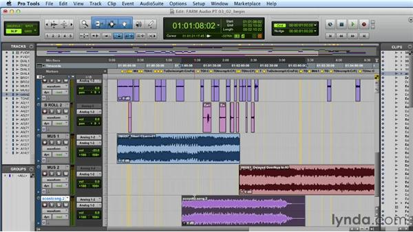 Adding sound effects and music: Audio Post Workflow with Final Cut Pro X v10.0.9 and Pro Tools