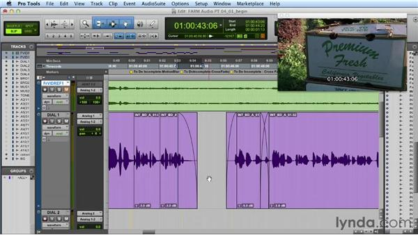 Using crossfades effectively: Audio Post Workflow with Final Cut Pro X v10.0.9 and Pro Tools