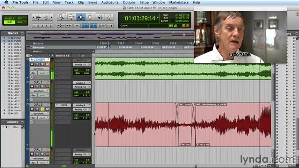 Dealing with noise problems: Audio Post Workflow with Final Cut Pro X v10.0.9 and Pro Tools