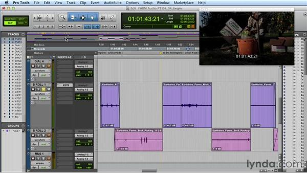 Using automation for volume and other parameters: Audio Post Workflow with Final Cut Pro X v10.0.9 and Pro Tools