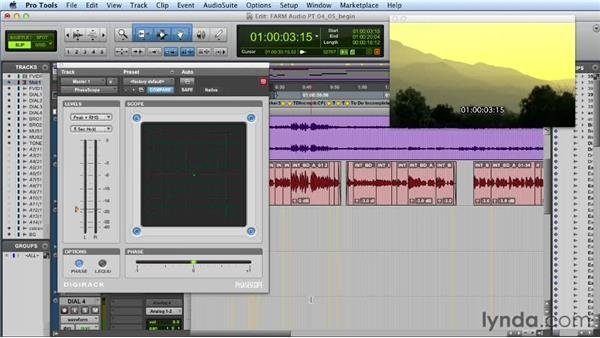 Exploring loudness and mixing: Audio Post Workflow with Final Cut Pro X v10.0.9 and Pro Tools