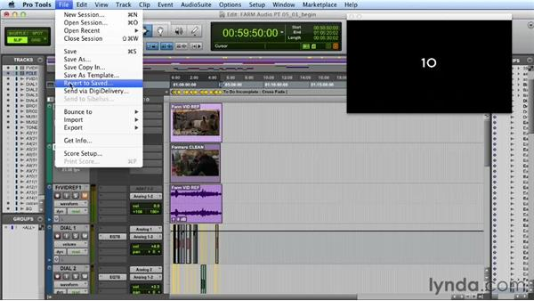 Exporting out of Pro Tools and back into FCP: Audio Post Workflow with Final Cut Pro X v10.0.9 and Pro Tools