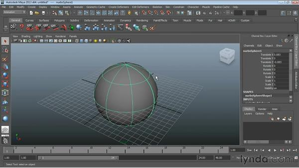 Welcome : Maya Essentials 3: NURBS Modeling Techniques