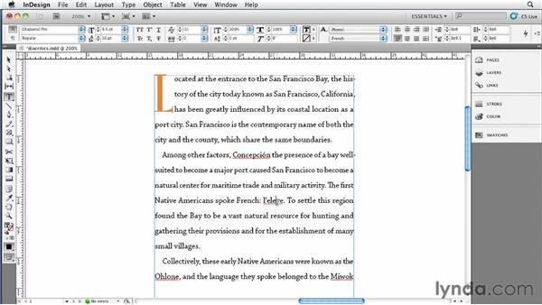 041 Letting InDesign add the diacritics: InDesign Secrets