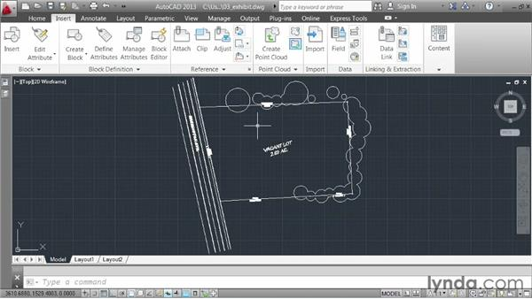 Controlling the appearance of referenced drawings: AutoCAD 2013 Essentials: 05 Working with References