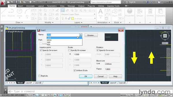Demo: working with references: AutoCAD 2013 Essentials: 05 Working with References