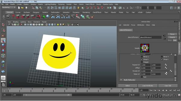 Using bitmaps as textures: Maya Essentials 4: Creating Textures and Materials