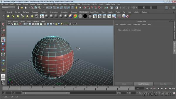 Texture-mapping polygonal surfaces : Maya Essentials 4: Creating Textures and Materials