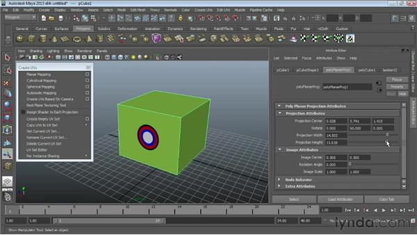 Exploring the basics of UV mapping : Maya Essentials 4: Creating Textures and Materials