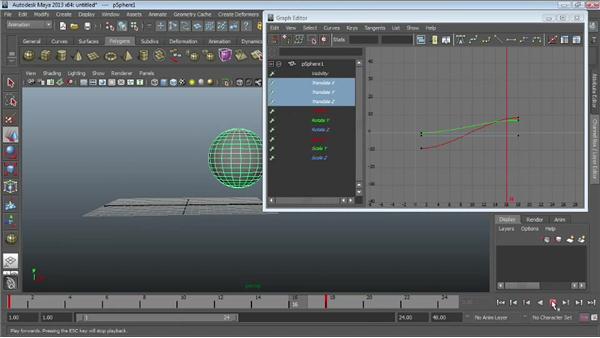 Creating animation cycles : Maya Essentials 5: Animation Tools