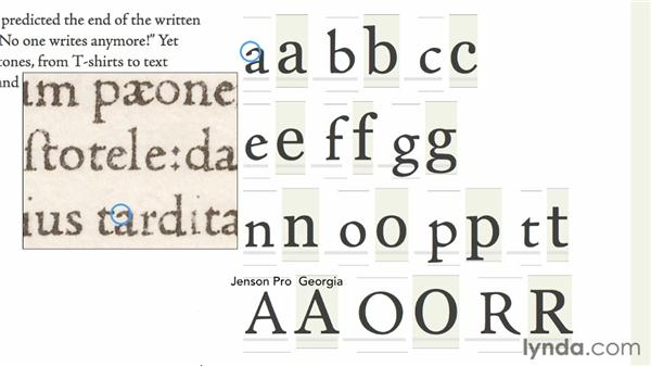 Identifying a Venetian font: Choosing and Using Web Fonts