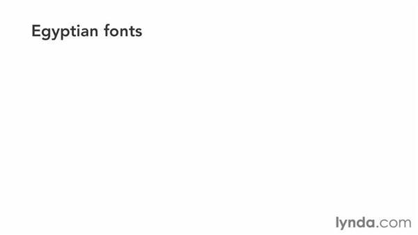 Identifying a Slab Serif font: Choosing and Using Web Fonts