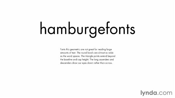 Identifying a Geometric Sans Serif font: Choosing and Using Web Fonts