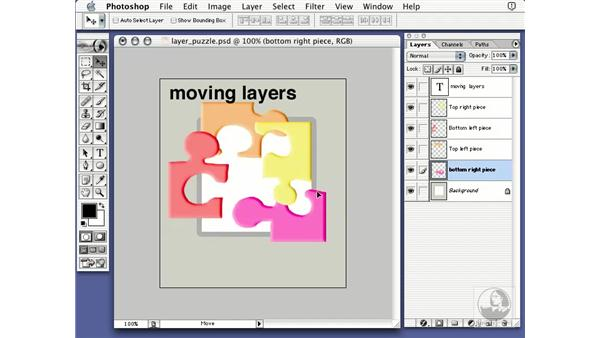 moving layers: Learning Photoshop 7
