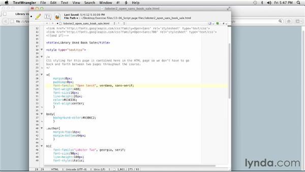 Setting fallback fonts: Choosing and Using Web Fonts