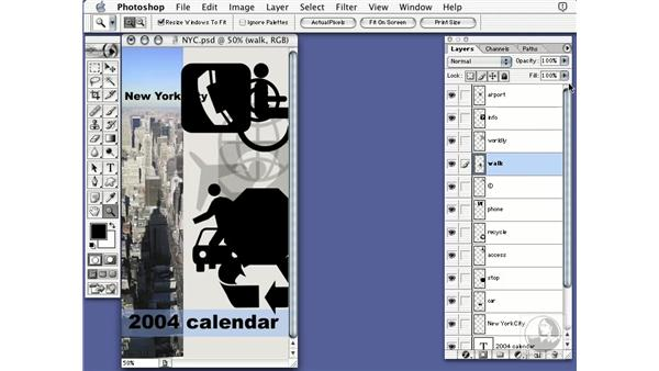 layer opacity: Learning Photoshop 7