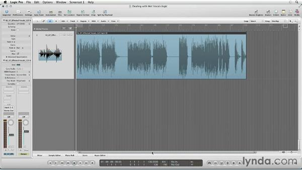 Dealing with wet vocal stems: Remixing Techniques: Time Stretching