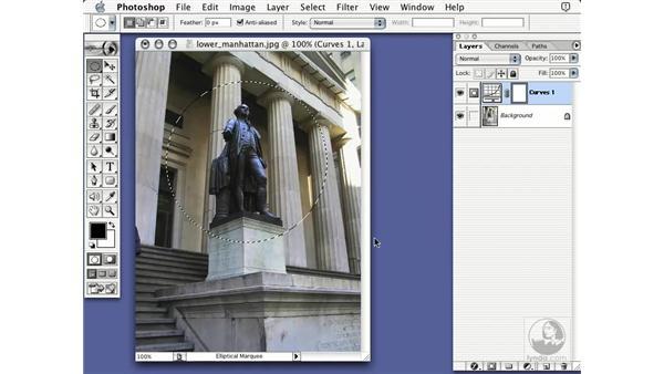 adjustment layers: Learning Photoshop 7