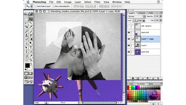 blending modes: Learning Photoshop 7
