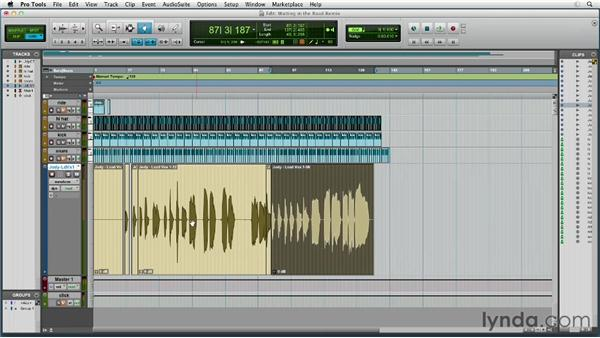 Editing vocal phrasing to work with 4/4 time: Remixing Techniques: Time Stretching