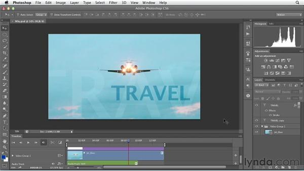 Why use video in Photoshop?: Artistic Video with Photoshop