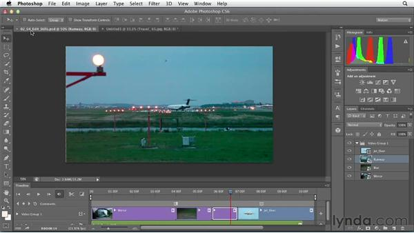 Editing still images: Artistic Video with Photoshop