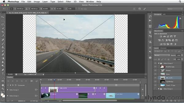 Animating still images: Artistic Video with Photoshop