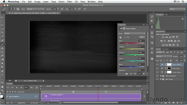 Applying styles in practice: Artistic Video with Photoshop