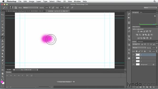 Animating brushstrokes : Artistic Video with Photoshop
