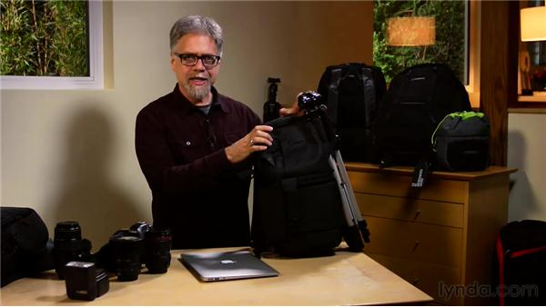 Using camera and computer bags: Shooting on the Road, from Gear to Workflow
