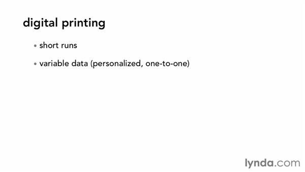 Choosing the correct type of printing for your project: Print Production Fundamentals