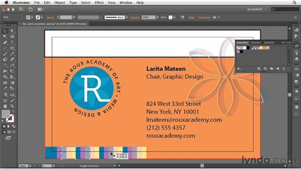 Using swatches: Print Production Fundamentals