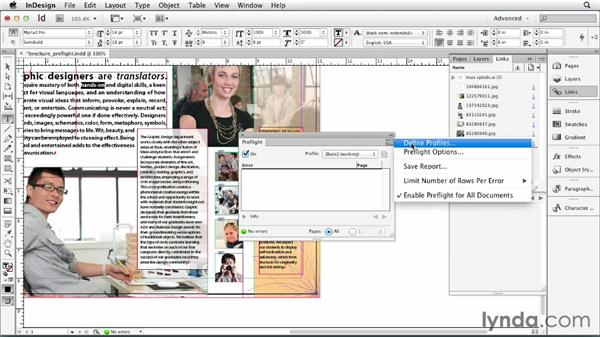Preflighting in InDesign: Print Production Fundamentals