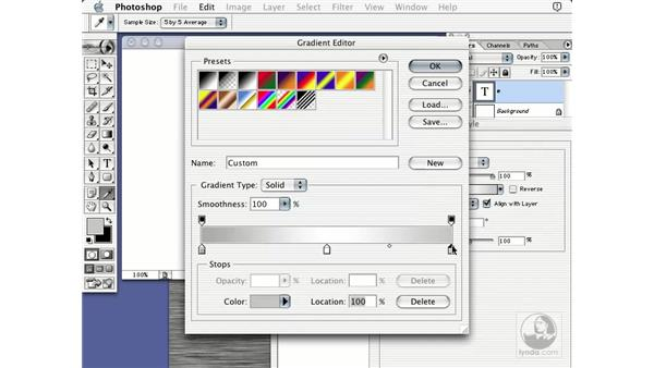 brushed metal: Learning Photoshop 7